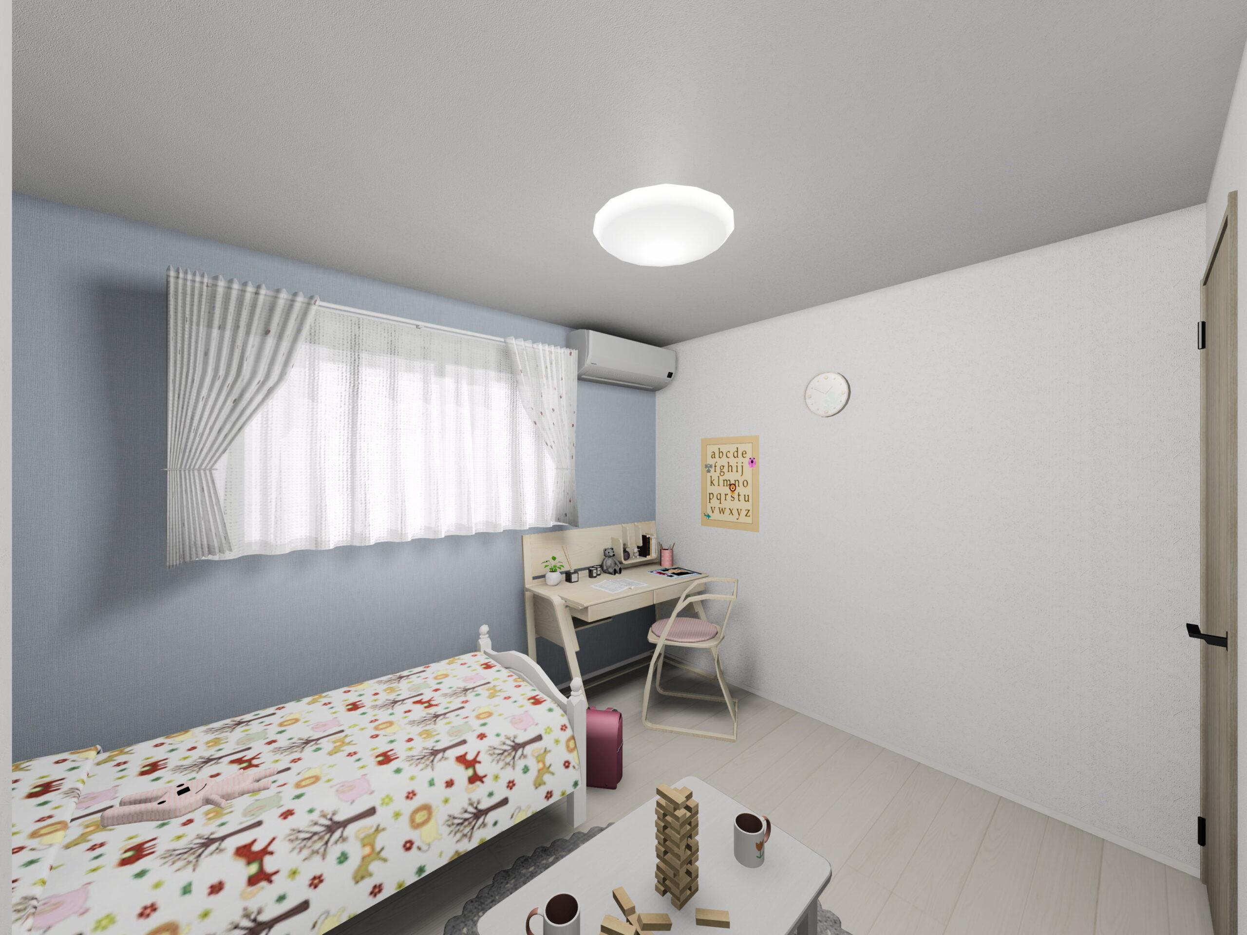 新築住宅OURS甘久1号地洋室(2)