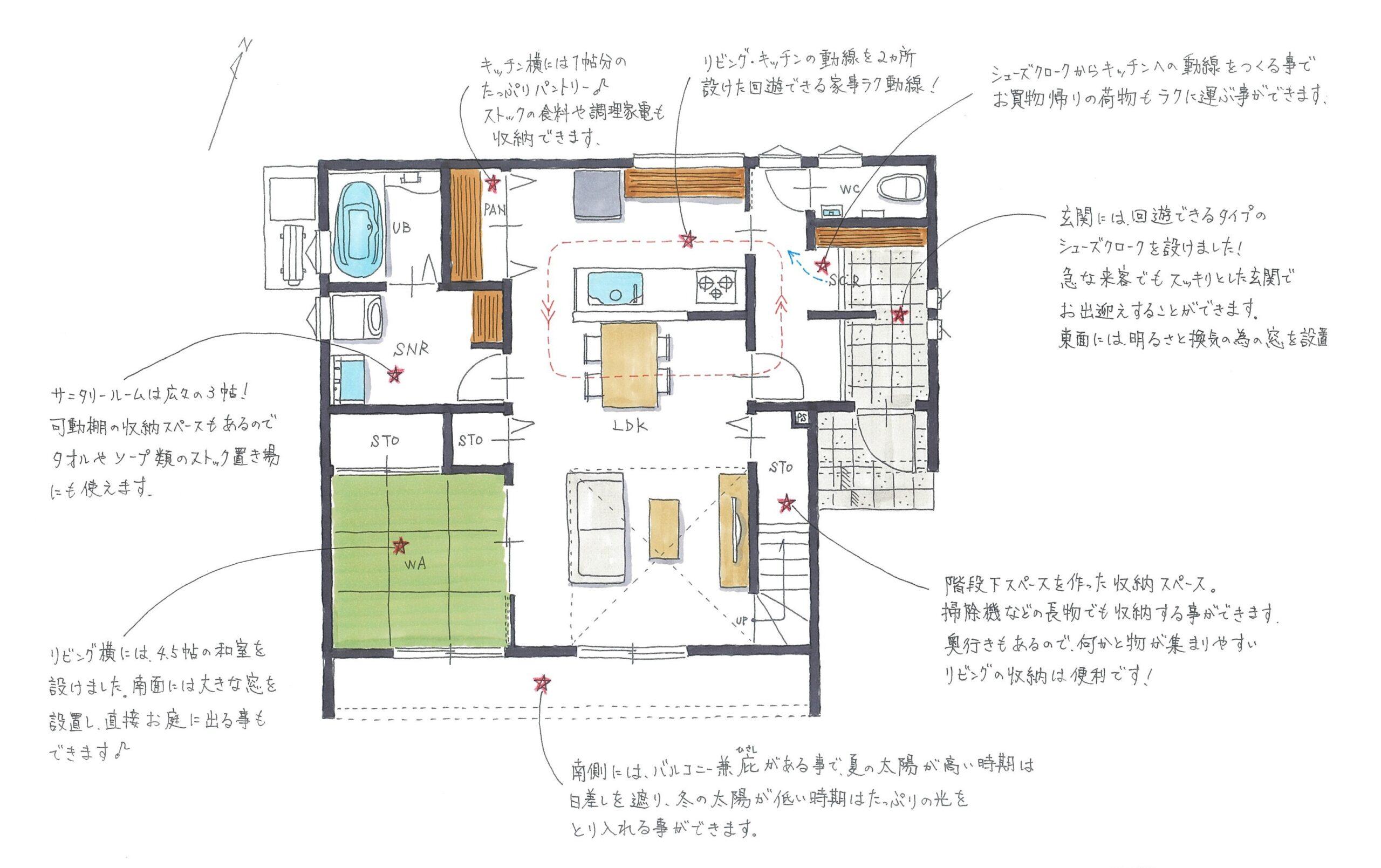 新築住宅OURS甘久1号地