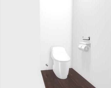 大村市新築建売住宅「OURS宮小路」1階トイレ