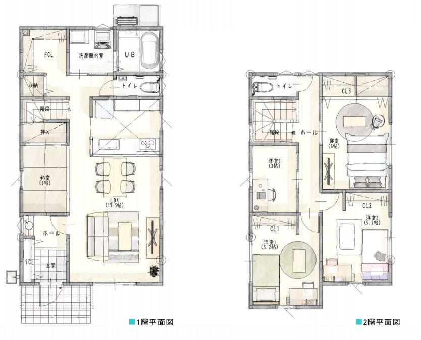 久留米市新築建売住宅「OURS久留米南2号地」