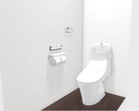 大村市新築建売住宅「OURS福重町3号地」2階トイレ