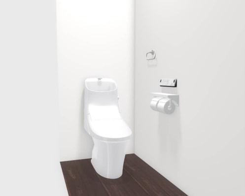 大村市新築建売住宅「OURS福重町2号地」2階トイレ
