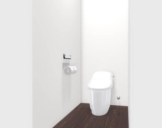 大村市新築建売住宅「OURS福重町2号地」1階トイレ
