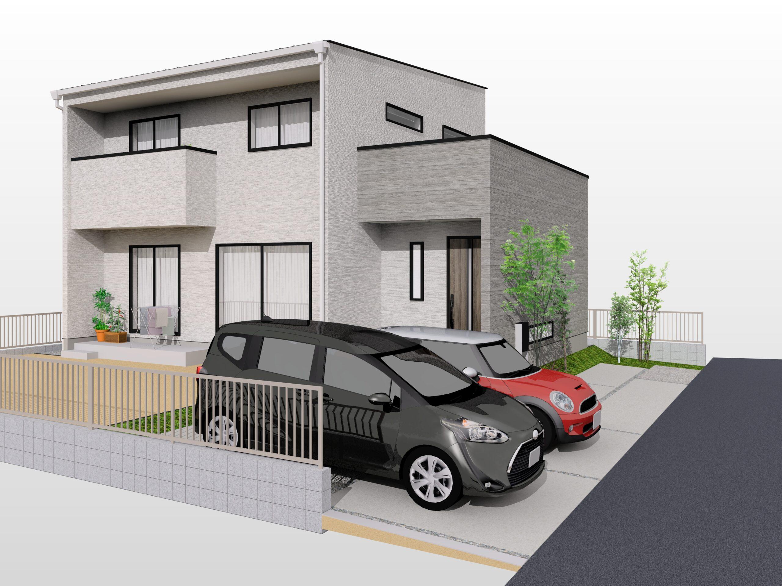 小城市新築建売住宅「OURS三日月Ⅱ1号地」